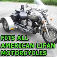 American Lifan Motorcycle Trike Kit - Fits All Models