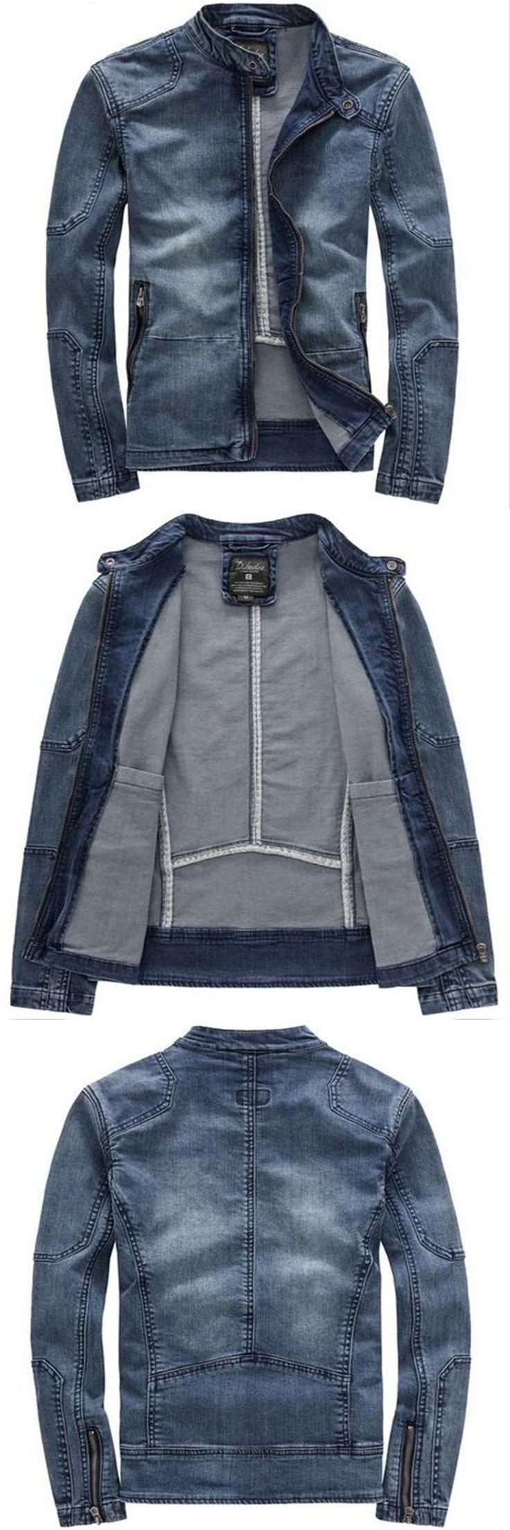 2017 Denim Jacket Youth Autumn Jacket Clothes Men'S Autumn Slim Fashion Casual Jacket Popular Denim Jacket Popular Clothes A2087