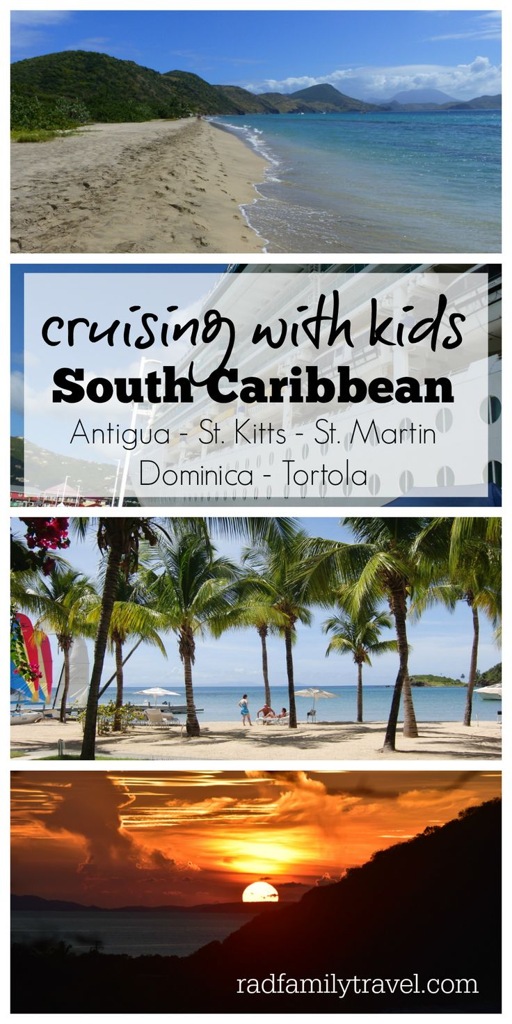Dreaming of a family cruise vacation?  Check out a Royal 10 day cruise with  kids in the South Caribbean: Antigua, St. Kitts, St. Martin, Dominica,  & Tortola!  Involve your kids in the planning and pick out amazing island  excursions that will blow you away!