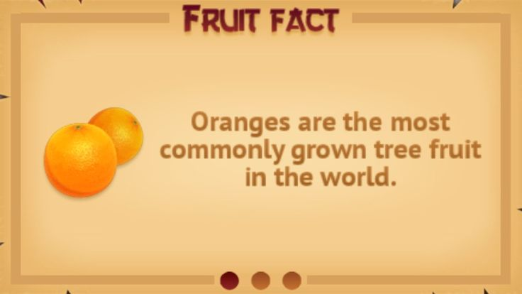 Fruit fact #6