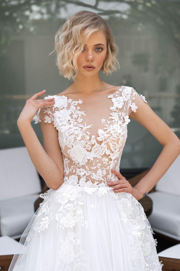 Primavera in 11  Wedding dresses lace, Wedding dresses blush, A