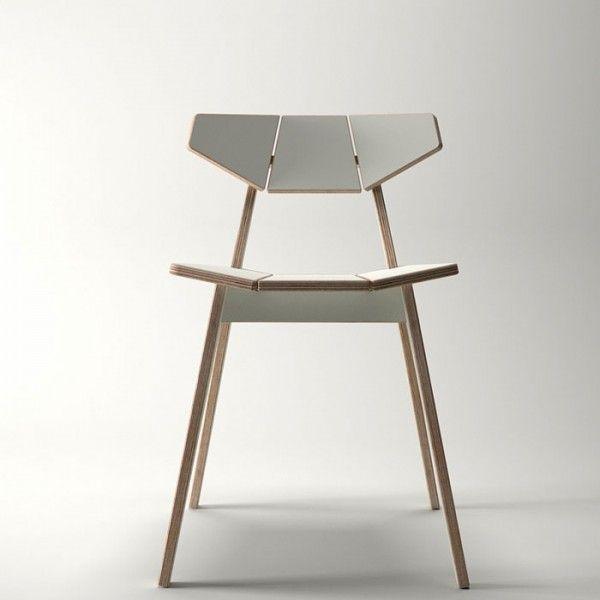 CNC Facet Chair http://www.ajancnc.com