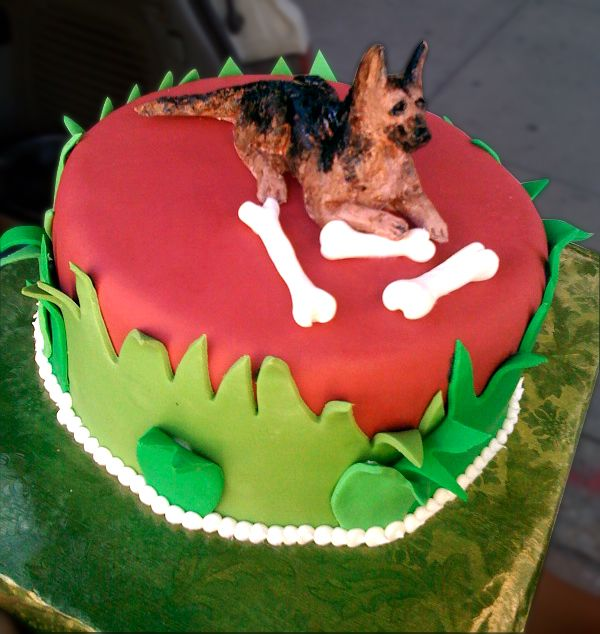 Puppy Birthday Cake Dc