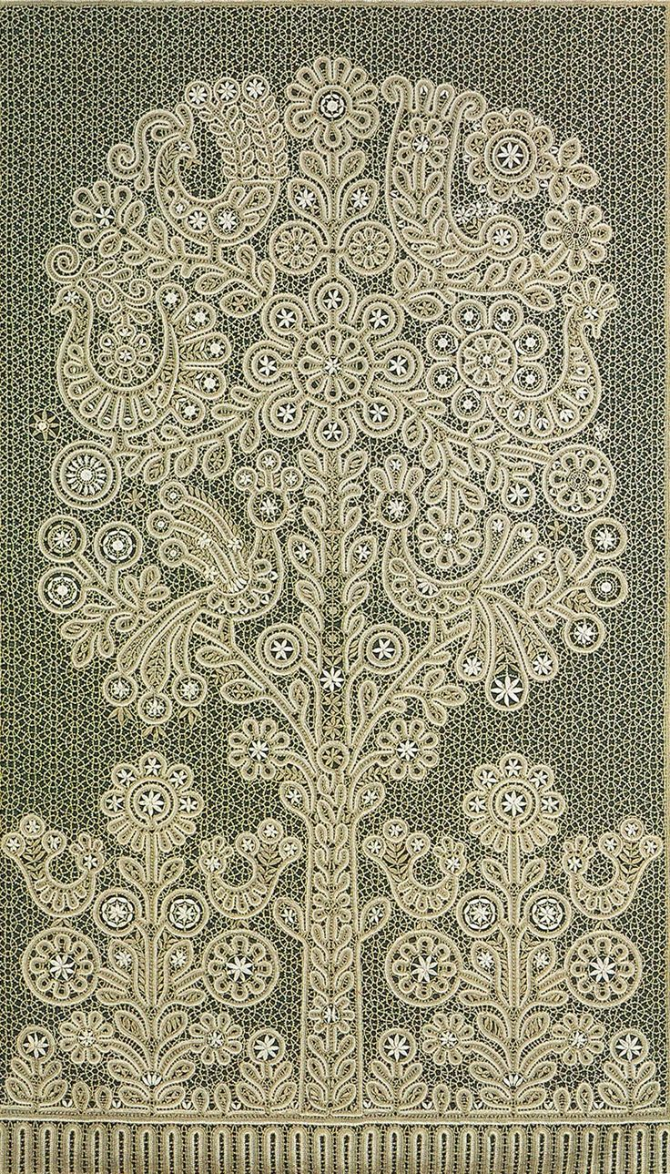 "lace fairy bobbin lace website | Singing Tree."" Bobbin lace panel from the Russian town of Vologda ..."