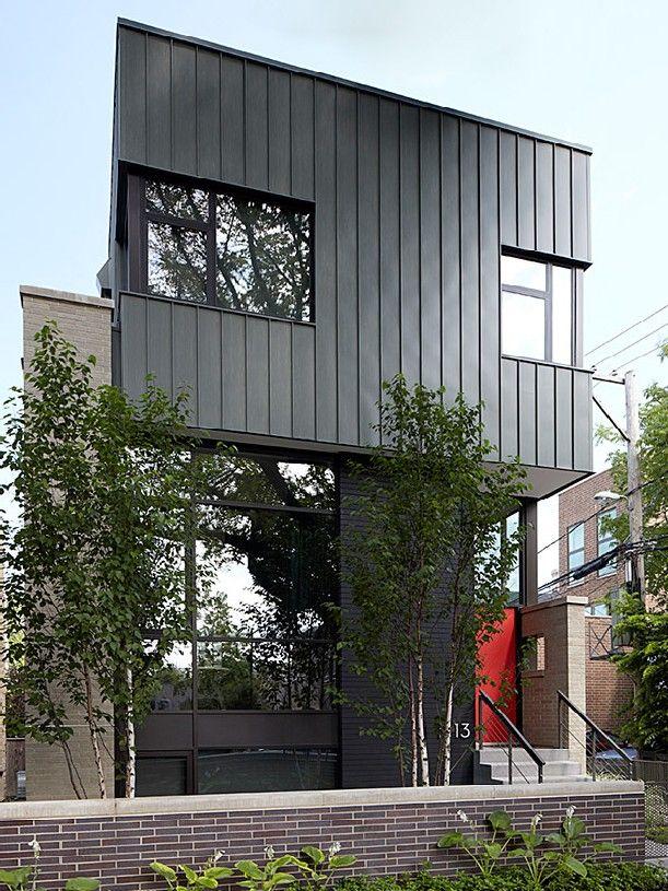 exterior verticle steel siding