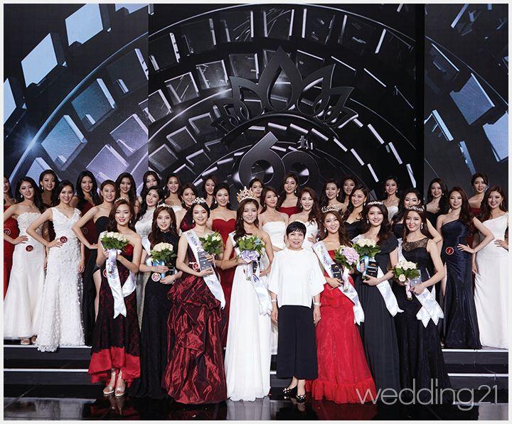 [웨딩드레스] 미스코리아를 향한 꿈의 드레스 2016 미스코리아 대회 참가자들의 아름다움이 제이드블랑 드레스와 만나 빛났다