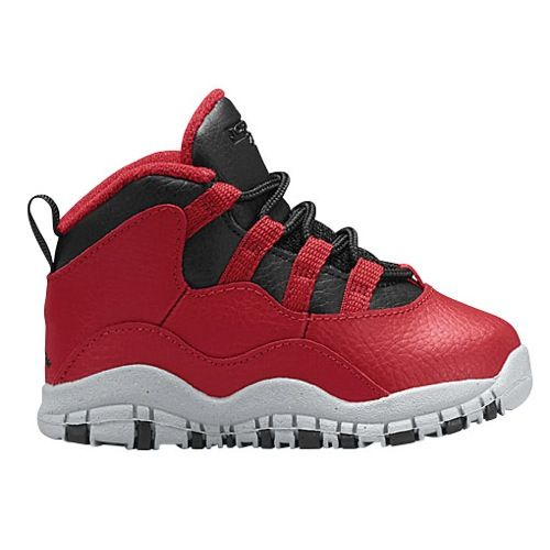 Kids Jordan Retro 10 - Boys Toddler - Gym Red/Black/Wolf Grey