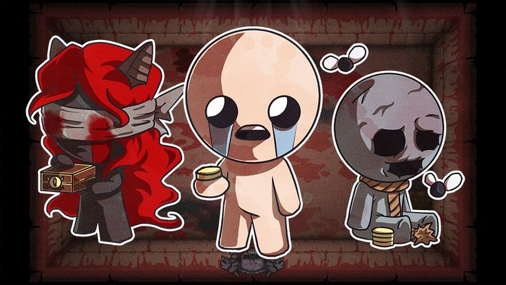 The Binding of Isaac : Lilith and Keeper by AngelMJ.deviantart.com on @DeviantArt