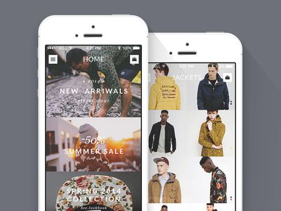 Mobile Shop (Concept iOS)