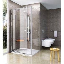 RAVAK Pivot PDOP2-100 sprchové dveře otočné, satin/satin Transparent 03GA0U00Z1