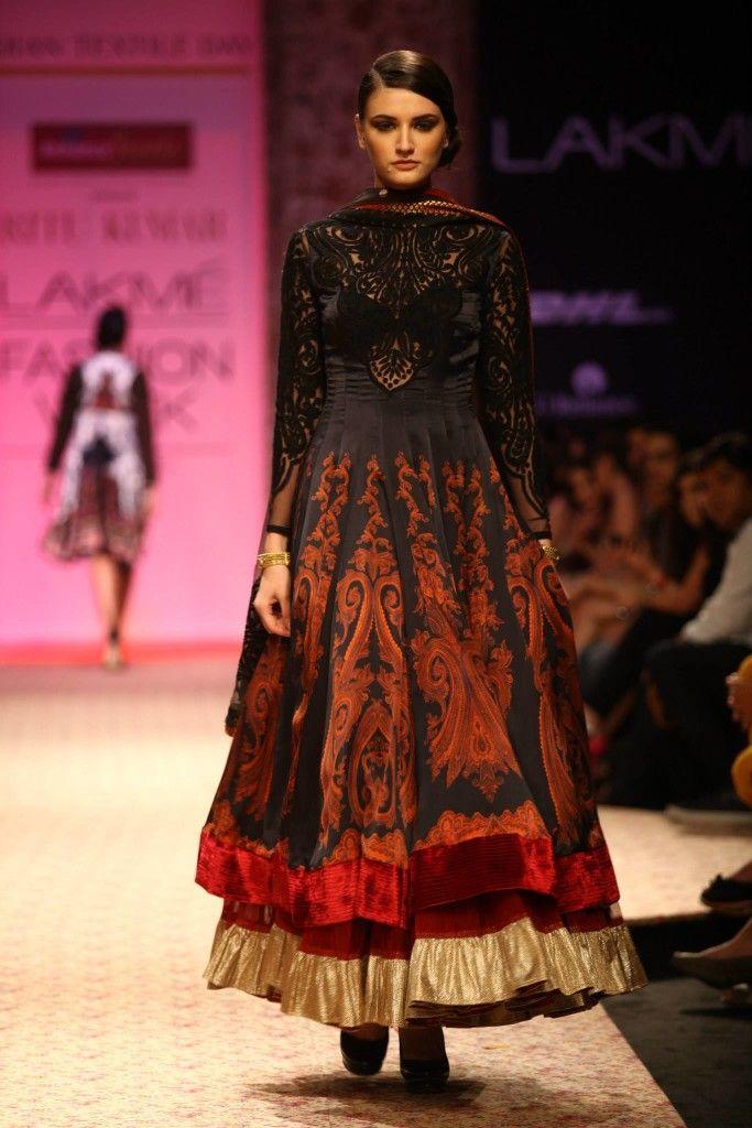 Ritu Kumar | Lakme Fashion Week, WinterFestive2013