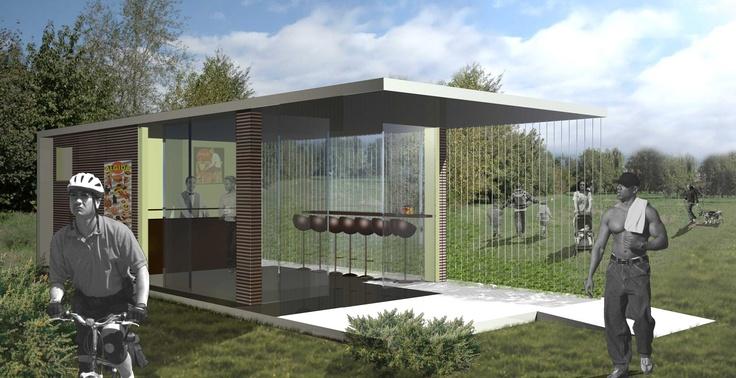 #2009_Progettazione chiosco - diseño chiringuito    http://www.spaziobinario.com/it/gallery?set=72157632976949027