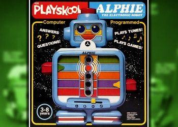 Electronic Toy Robots of the 1980s - Playskool | http://amazingelectronictoys.blogspot.com