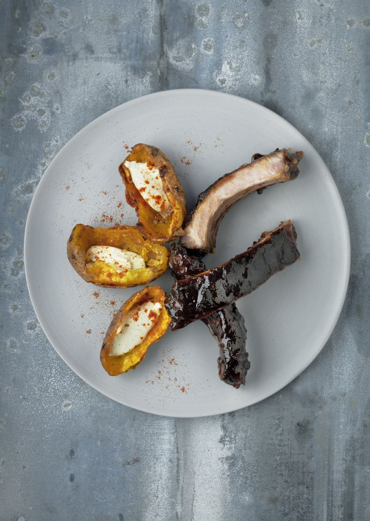 Spare ribs with ginger, honey, grapefruit, soy and coffee | In pursuit of food...
