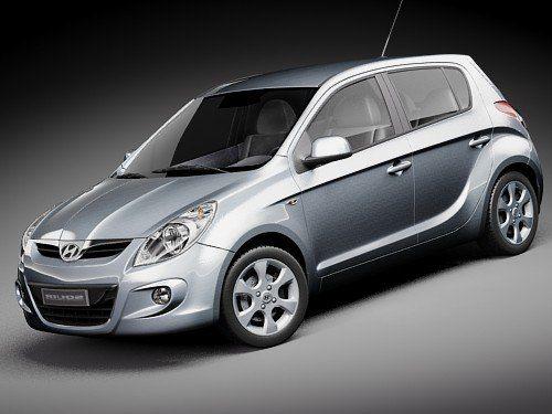 Hyundai I20 20 3D Max - 3D Model