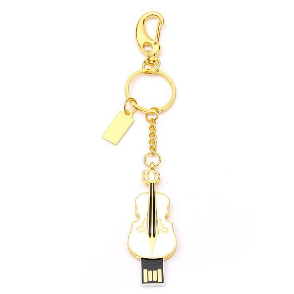 16GB Cute Guitar Style USB 2.0 Flash Drive Storage Memory Pen U Disk