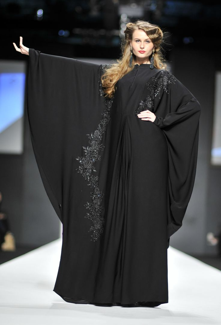 abaya dubai fashion week in diffrnt style 2015-2016 (2)