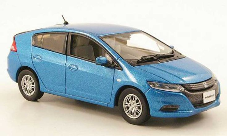 Honda Insight blue 2010 J Collection. Honda Insight blue 2010 miniature 1/43