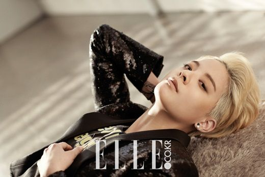 """f(x)'s Amber Says That Reality Hit Her Hard During """"Real Men"""" in Elle's Interview and Pictorial"""