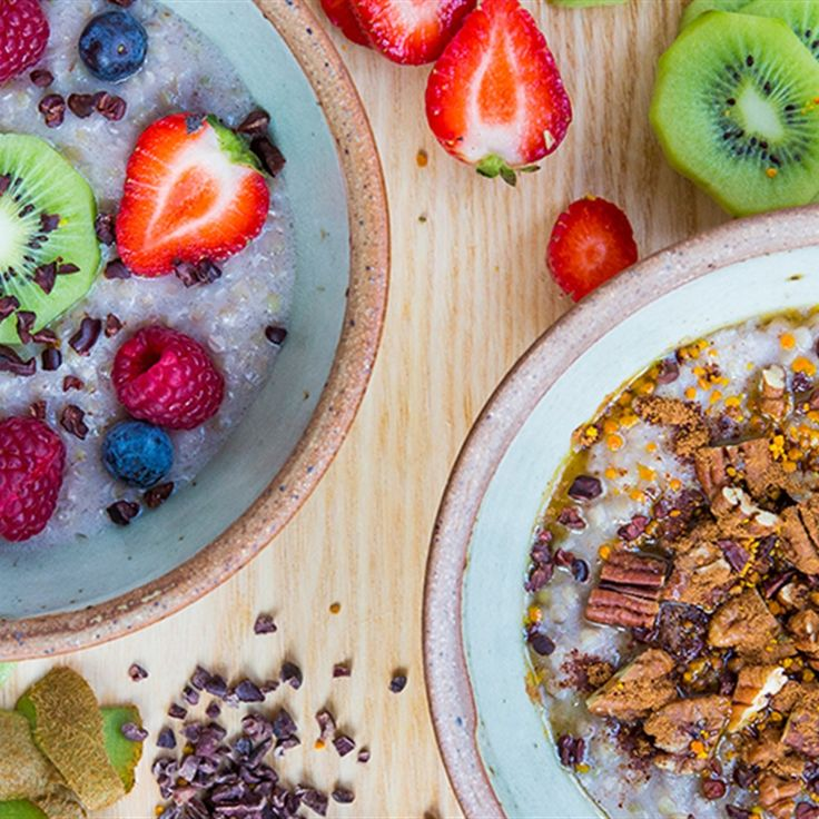 Try this Coconut and Buckwheat Porridge recipe by Chef Jasmine and Melissa Hemsley . This recipe is from the show Hemsley + Hemsley - Healthy