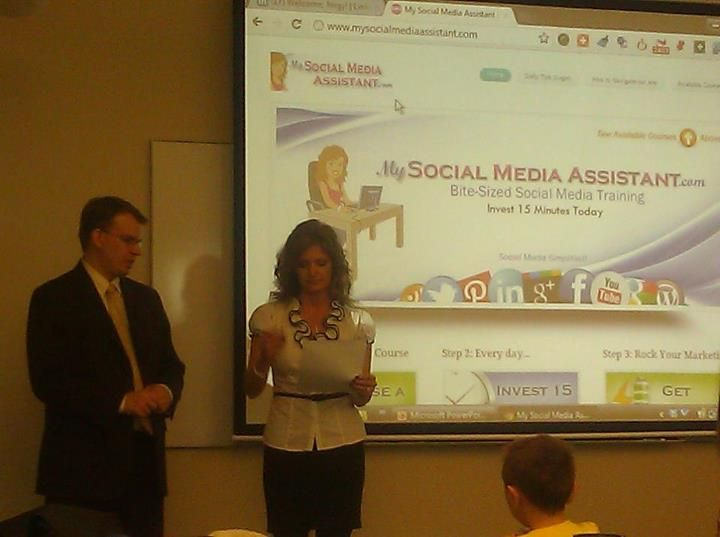 Just want to thank all the people that attended our social media training this morning!  It was a great group!