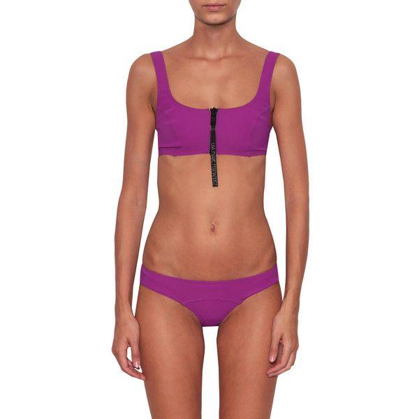 Lisa Marie Fernandez Jasmine Bikini ($164) ❤ liked on Polyvore featuring swimwear, bikinis, viola, lisa marie fernandez, lisa marie fernandez swimwear, bikini beachwear, bikini two piece and bikini swimwear