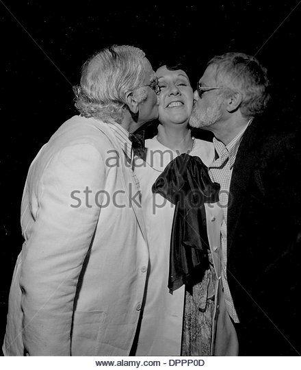 jean stapleton | Dec. 29, 2005 - JEAN STAPLETON WITH ART CARNEY AND PAUL BOGART.#3278 ...