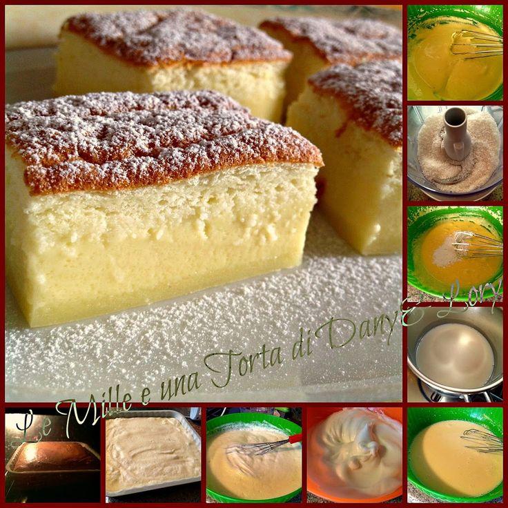 Condividi la ricetta... INGREDIENTI: -65 g burro -50 g cocco disidratato -65 g farina 00 -4 uova -1 cucchiaino di succo di limone -1 bustina vanillina -150 g zucchero -500 ml latte -1 cucchiaio di…