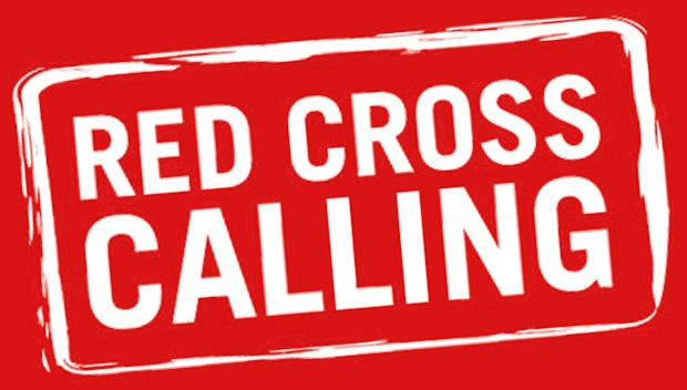 Red Cross provide emergency services volunteers at evacuation centres