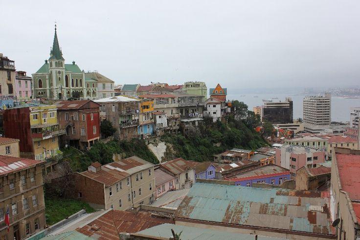 Cerro Concepción en Valparaíso. Foto de Patricio Balladares Silva.
