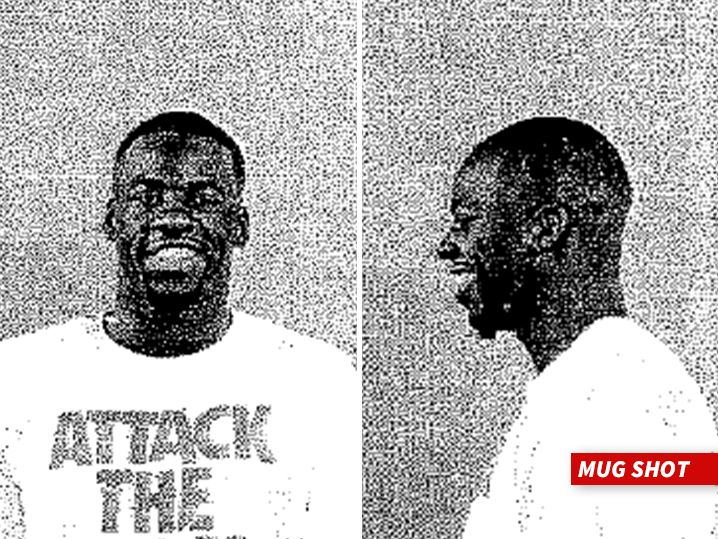 Draymond Green -- Smiling Mug Shot ... Accuser Claims NBA Star Taunted Him Over Scholarship - http://blog.clairepeetz.com/draymond-green-smiling-mug-shot-accuser-claims-nba-star-taunted-him-over-scholarship/