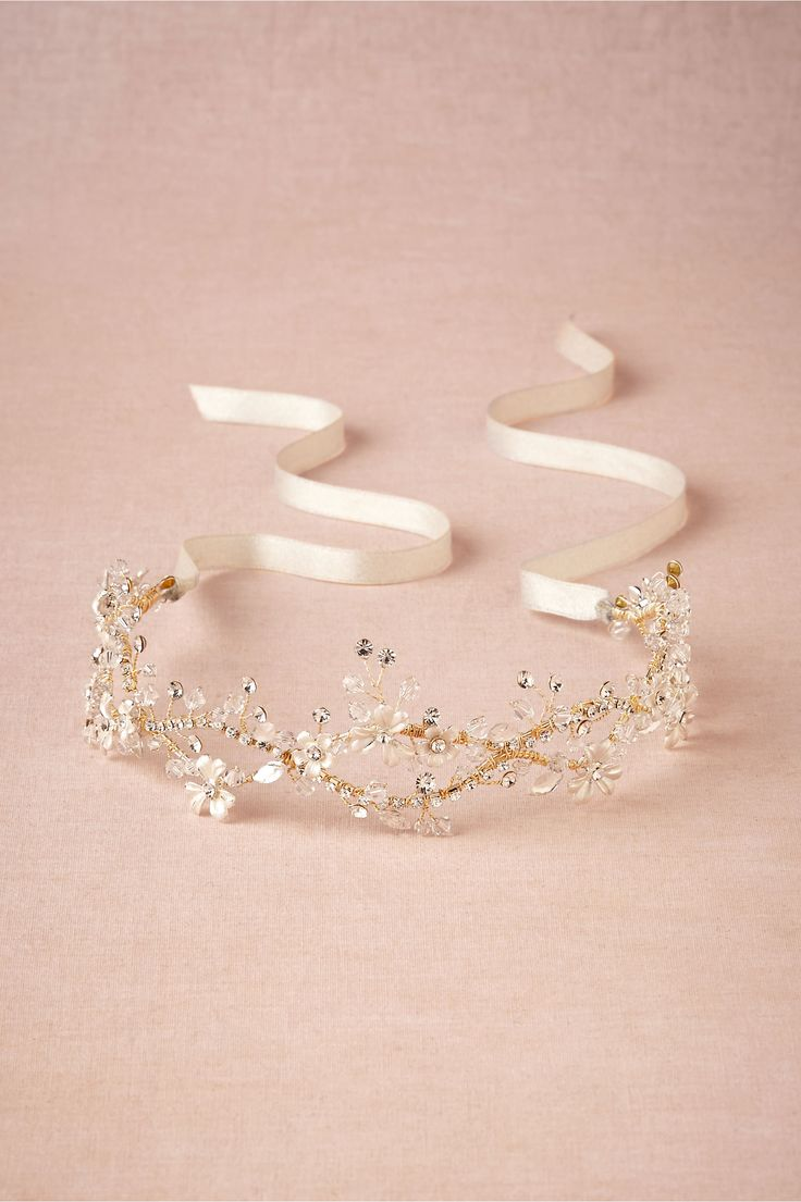 Iva Halo in Shoes & Accessories Headpieces Halos & Headbands at BHLDN