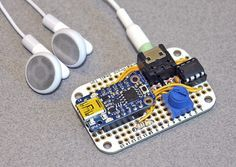 Trinket Audio Player Tutorial:   Adafruit Trinket is the talk of the town. Now it can talk back!