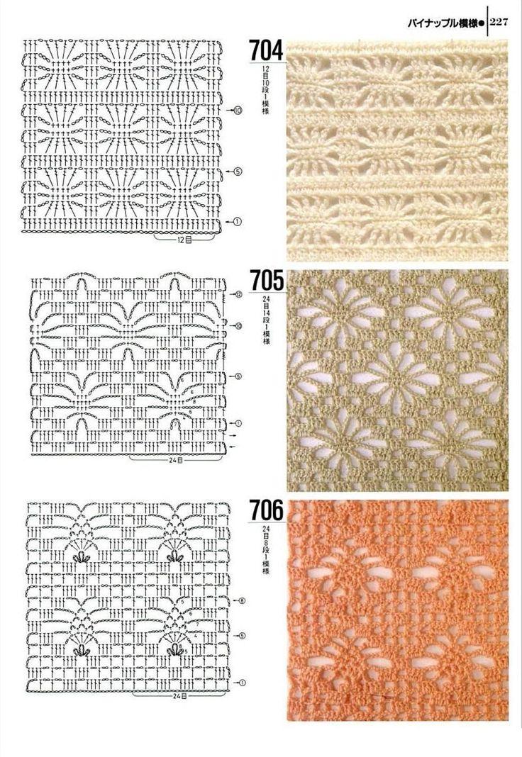Knitting patterns book 1000 - 704 - 705 - 706