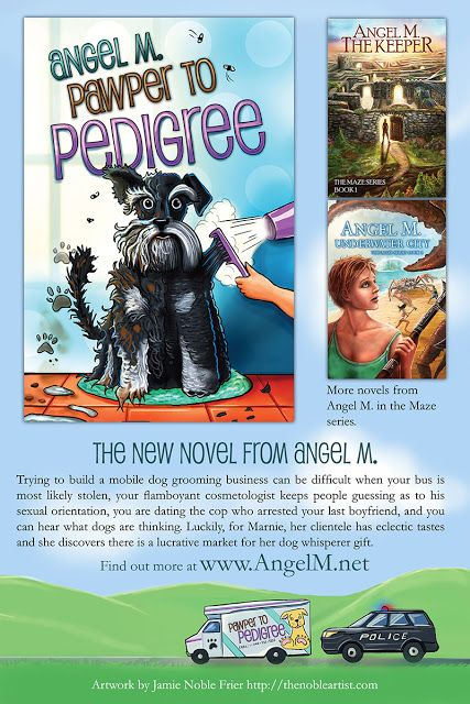 *: From Keepers to Canines - Meet Author Angel Waggon...