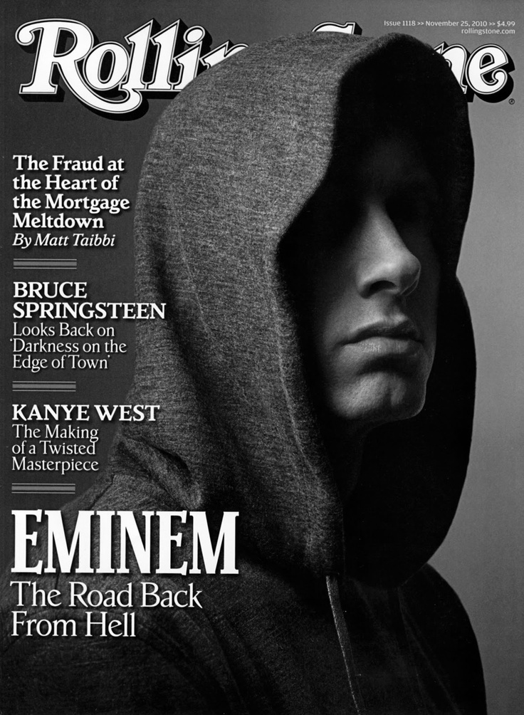 Eminem- I don't care how old he is, he's still hot