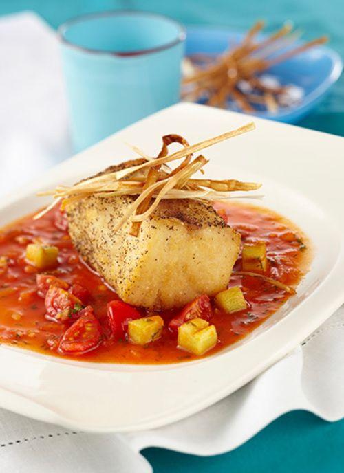 Sirva estos filetes con un arroz con coco y mango biche para crear un contraste de texturas y sabores.