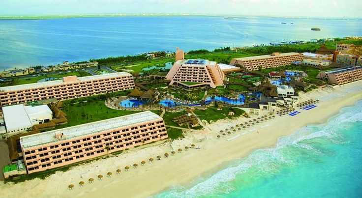 The Pyramid at Grand Oasis All Inclusive in Cancun. Book a Luxury All Inclusive Resort in Cancun with Oasis just minutes from the Cancun Airport and on the beach. #CancunAllinclusiveResorts #Cancun #Hotels #Travel #Mexico