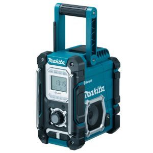 Makita Site Radio DMR106 BARE Makita Site Radio DMR106 BARE.This corded site radio is compatible with mains 240v (Barcode EAN=0088381688987) http://www.MightGet.com/april-2017-1/makita-site-radio-dmr106-bare.asp
