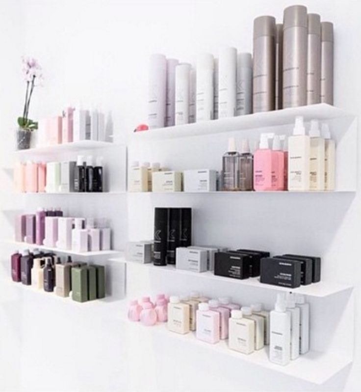Shelf to store product in bathroom