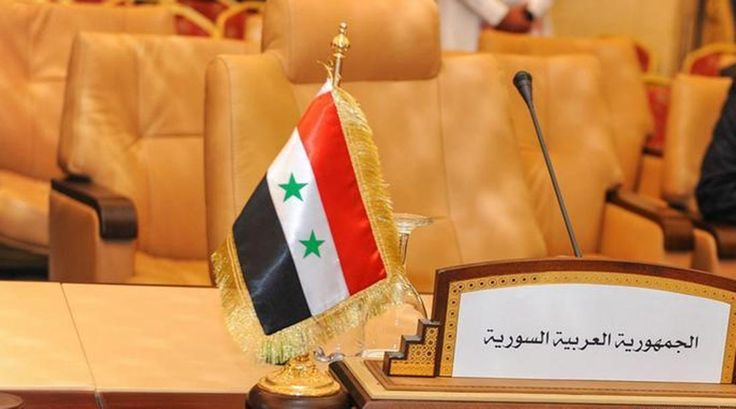 """Russian Foreign Minister Sergey Lavrov called yesterday for Syria to be readmitted to the Arab League as part of efforts to end the civil war in the country.""""The fact that the Syrian government, a"""