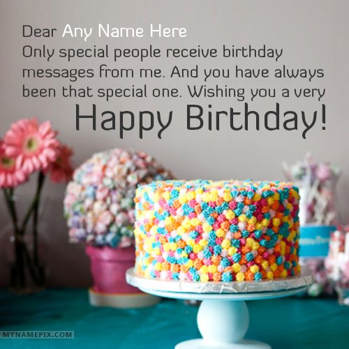 67 best happy birthday wishes with name images on pinterest best happy birthday greetings with name m4hsunfo Images