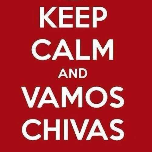 Keep Calm And Vamos Chivas