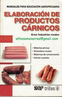 LIBROS TRILLAS: ELABORACIÓN DE PRODUCTOS CÁRNICOS