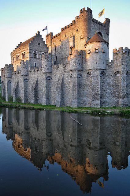 Castillo Medieval de, Gravensteen  - Ghent, Belgica