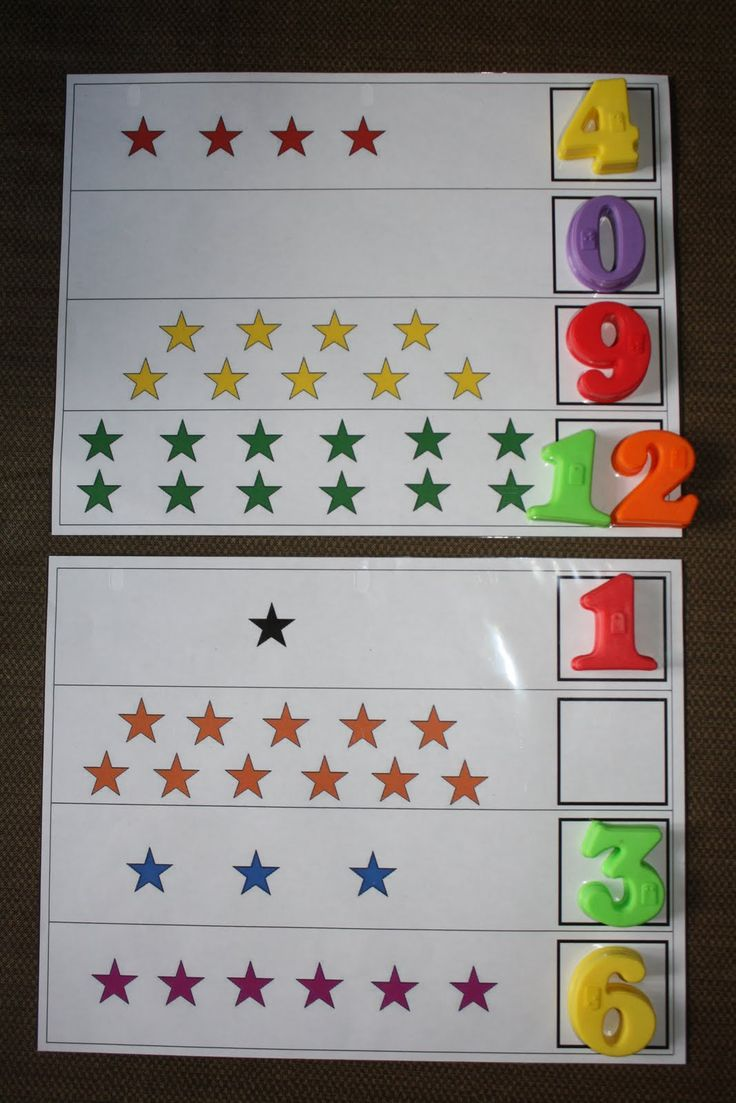 Counting...instead of using magnetic numbers, laminate and write the numbers to hit the standard for writing numbers