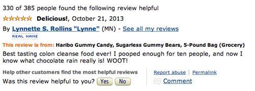Sugarless Haribo Gummy Bear Reviews Tell Tales of Toilet Terror