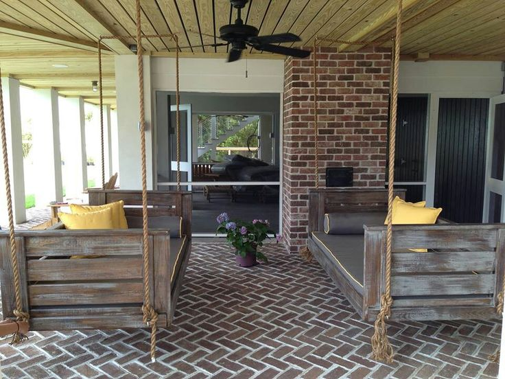 Cool porch bench swing bench swing ideas for Cool porch swings