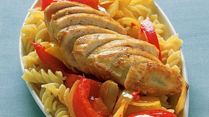 MatPrat - Kyllingfilet med varm paprikasalsa