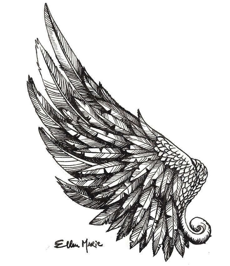 Ms de 25 ideas increbles sobre Tatuajes de alas en Pinterest